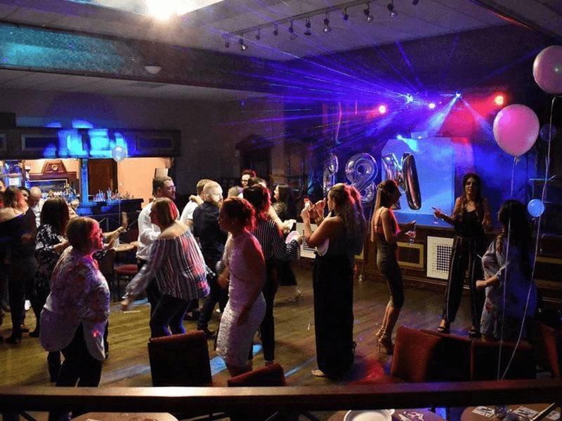 Engagement Disco Hire at Hazlerigg Club Newcastle